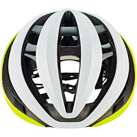 Giro Aether MIPS Kask rowerowy, mat citron/white